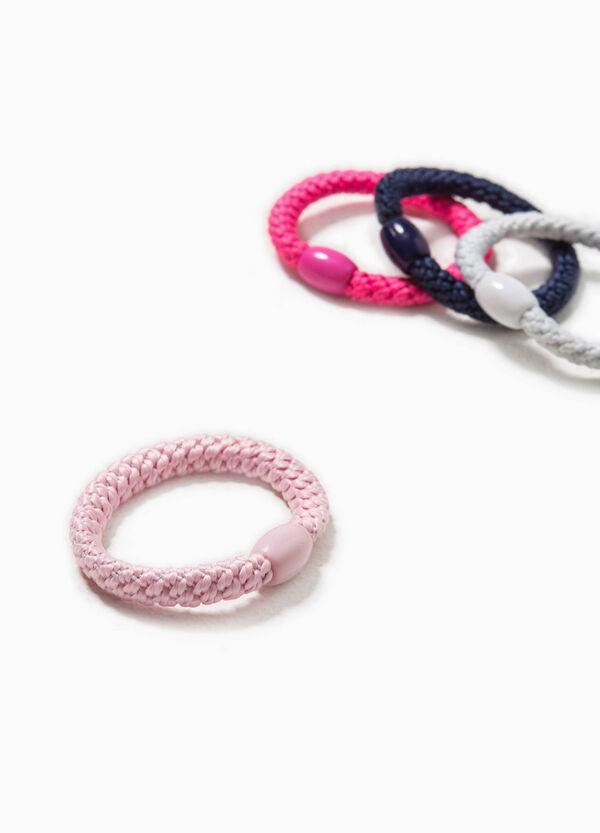 Four-pack hair elastics | OVS
