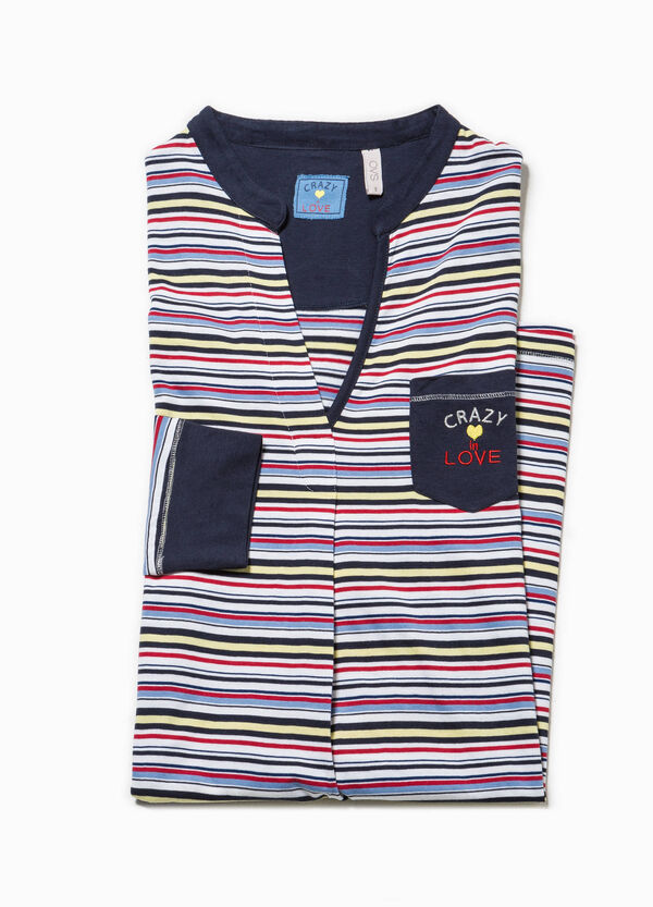 Nightshirt with striped pattern | OVS