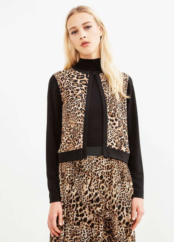 Blazer stretch stampa animalier | OVS