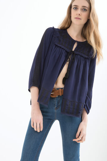 100% viscose blouse.