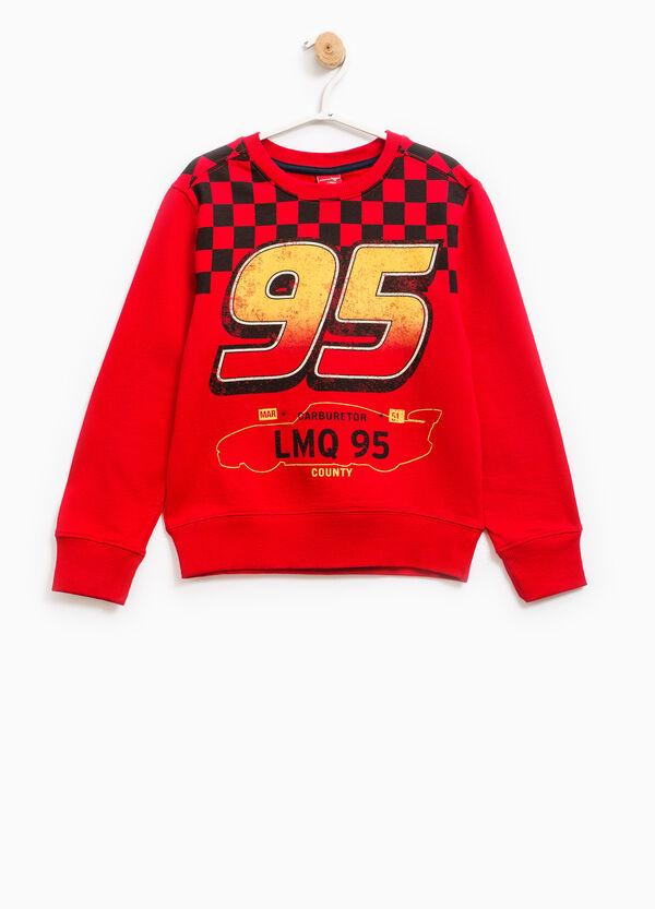 Cars maxi print cotton sweatshirt | OVS