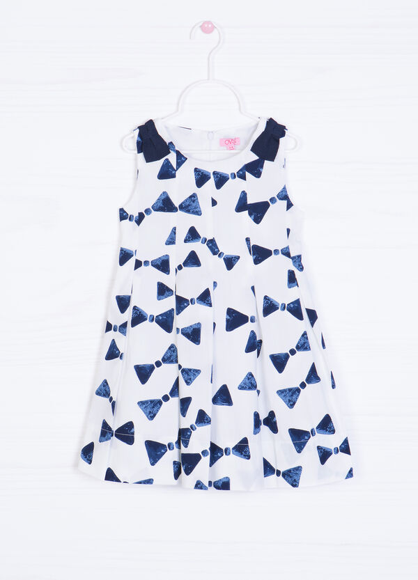 Printed dress in 100% cotton | OVS
