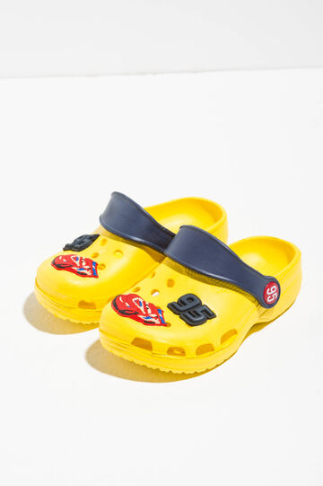 Slippers with Cars patch