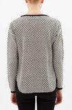 Pullover with pocket, Black, hi-res