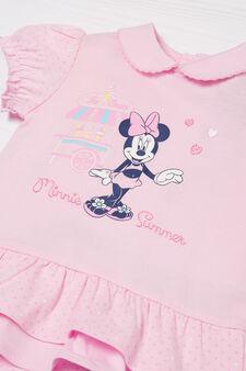 Pagliaccetto in puro cotone Minnie, Rosa, hi-res