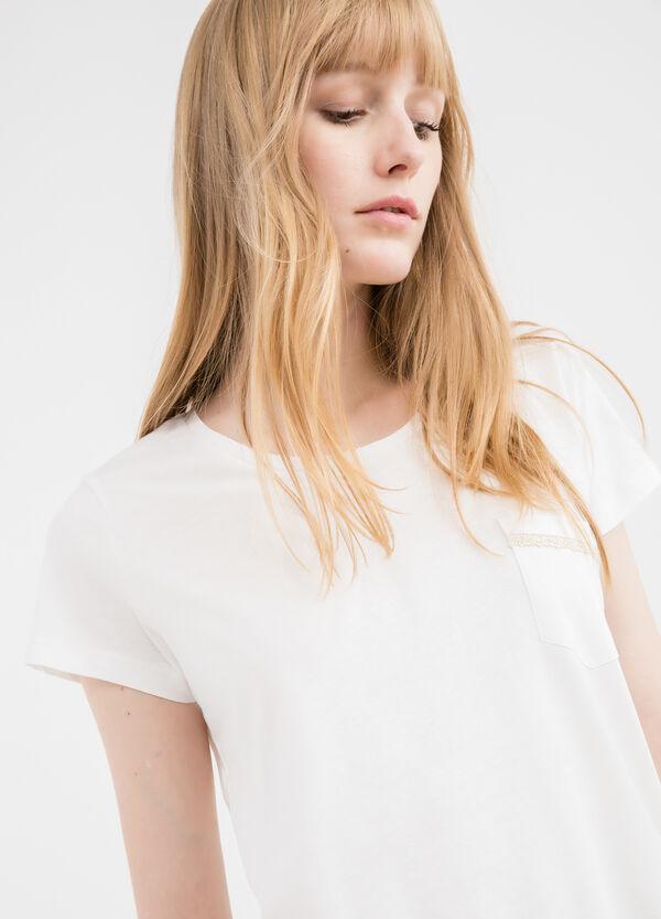 T-shirt puro cotone con taschino | OVS