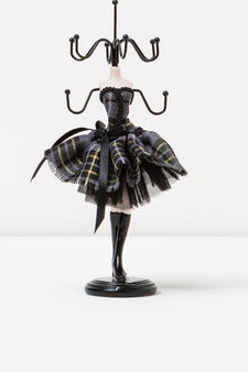 Doll jewellery stand, Black/Grey, hi-res