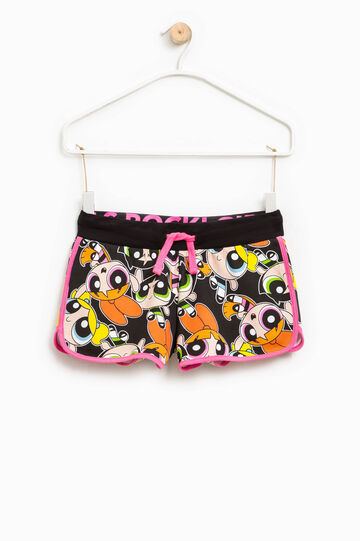 The Powerpuff Girls shorts with drawstring, Multicolour, hi-res