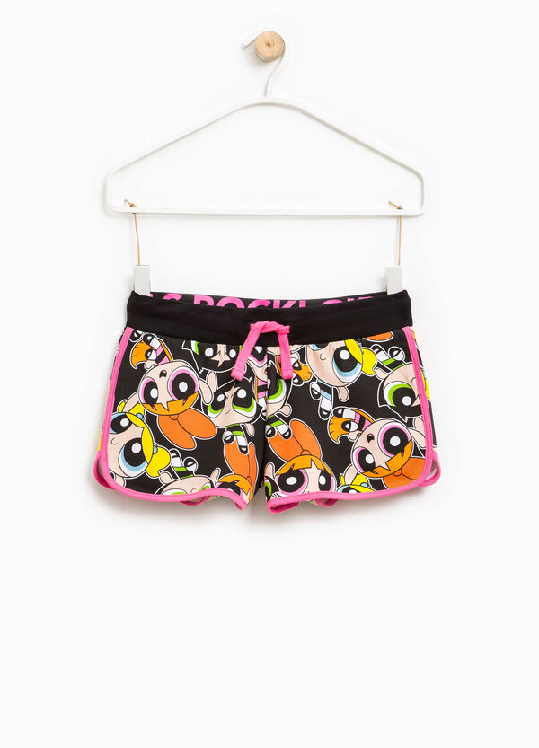 The Powerpuff Girls shorts with drawstring | OVS