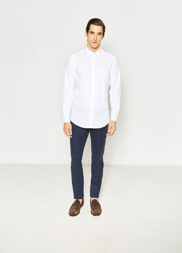 Camicia Rumford slim fit in cotone | OVS