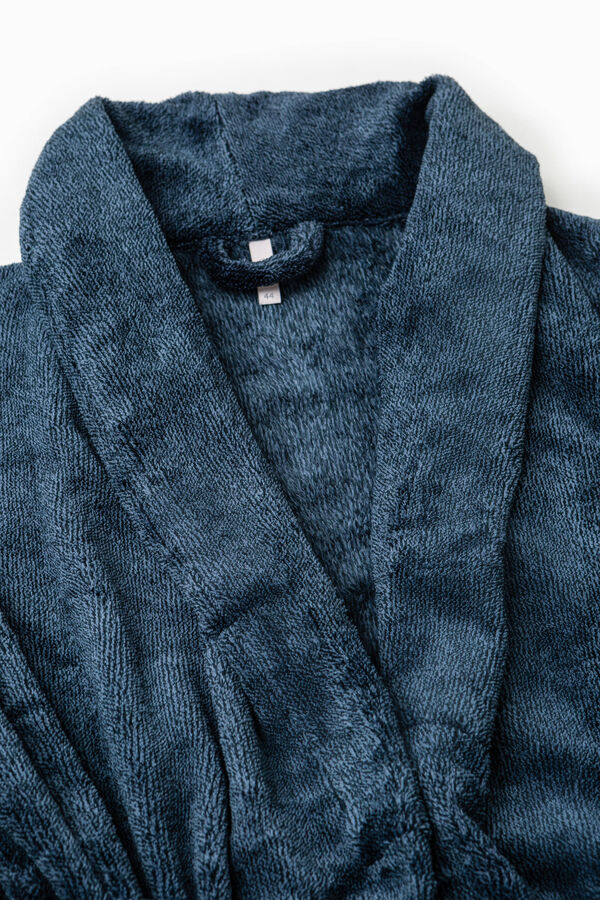 Solid colour dressing gown with belt | OVS