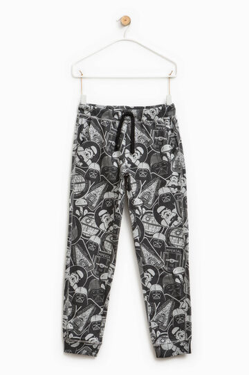 Star Wars patterned cotton trousers