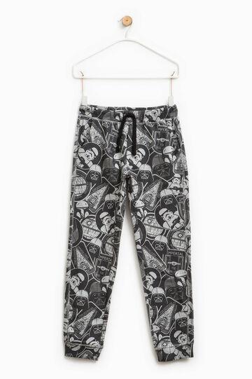Pantalón de algodón con estampado de Star Wars