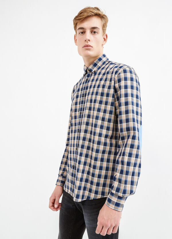Casual shirt with patches | OVS