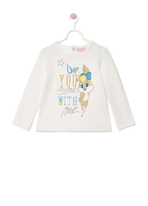 T-shirt stretch stampa Lola Bunny   OVS
