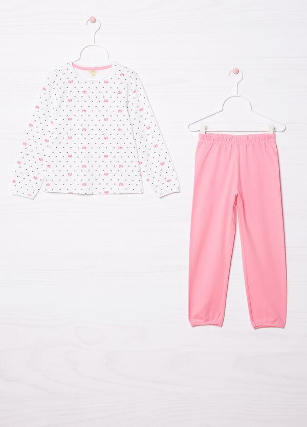 100% cotton pyjamas with all-over print   OVS