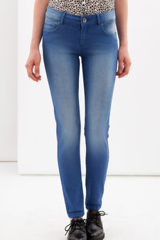 Skinny fit stretch jeans, Medium Wash, hi-res