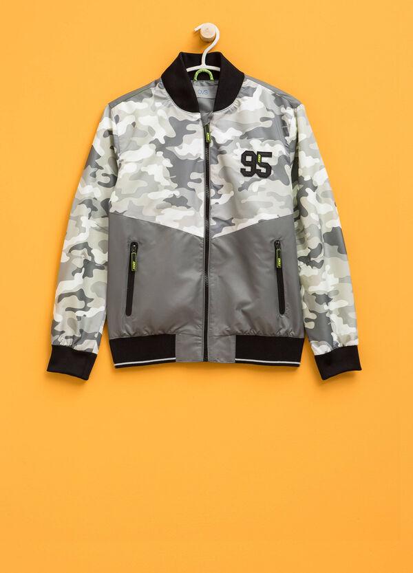 Camouflage print jacket | OVS
