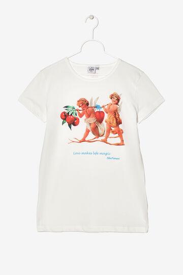 100% cotton Expo T-shirt. Designed by Elio Fiorucci, White, hi-res