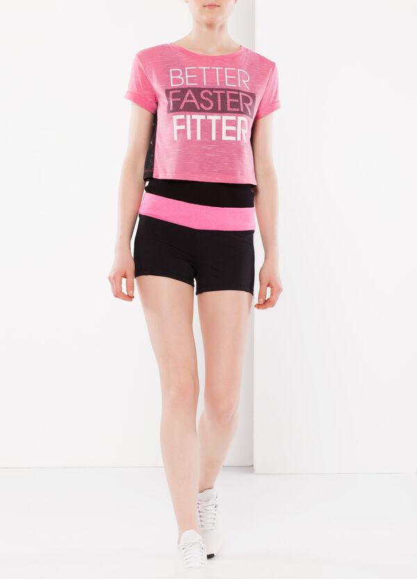 Elasticated waist sports shorts   OVS