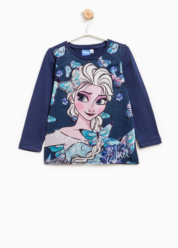 Maxi Frozen print cotton T-shirt | OVS