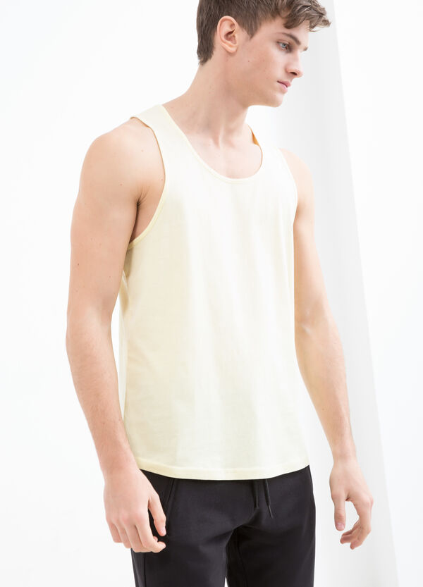 T-shirt smanicata puro cotone | OVS