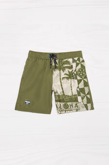 Boxer mare coulisse Maui and Sons, Verde militare, hi-res