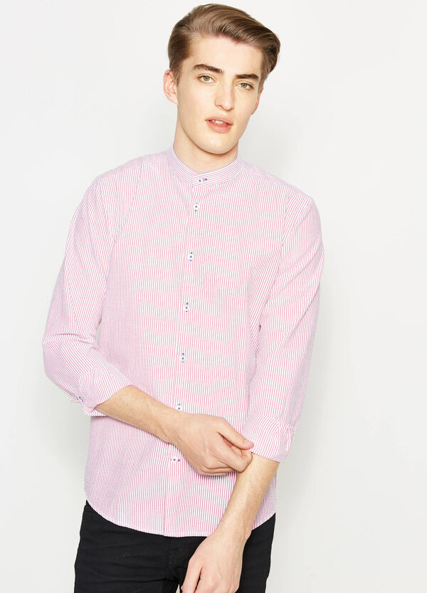 Casual shirt in cotton with striped pattern | OVS