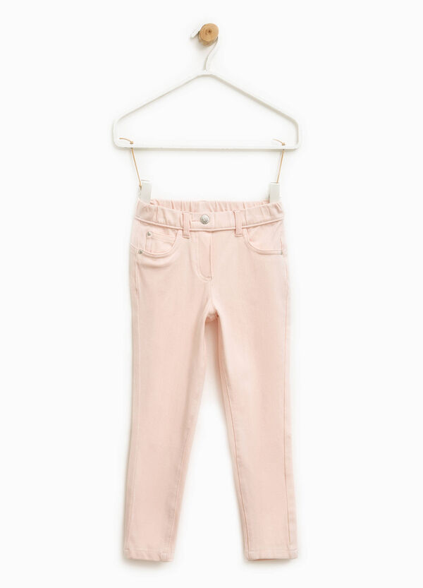 Stretch cotton trousers | OVS
