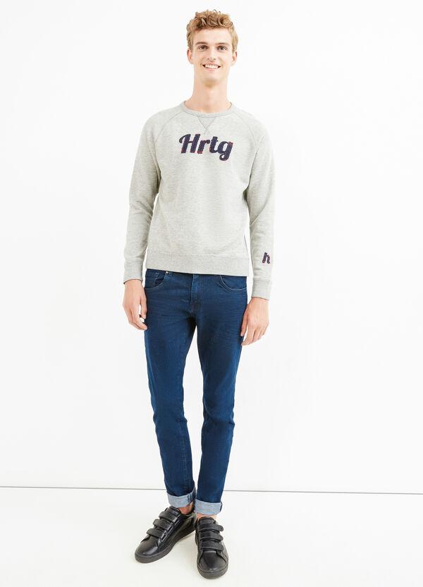 G&H patch 100% cotton sweatshirt | OVS
