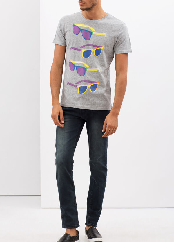 T-shirt with printed illustration | OVS