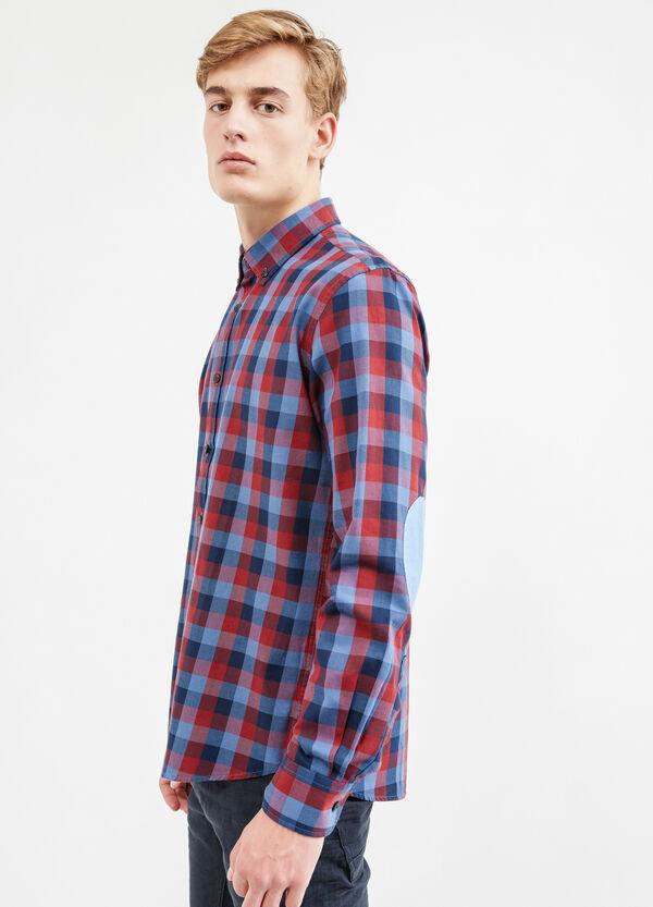 Camicia casual puro cotone a quadri | OVS
