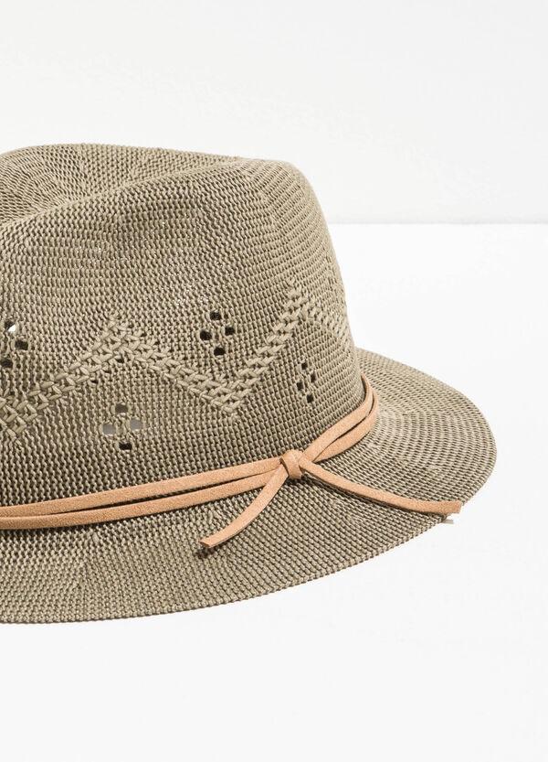 Sombrero de ala ancha con diseño calado | OVS