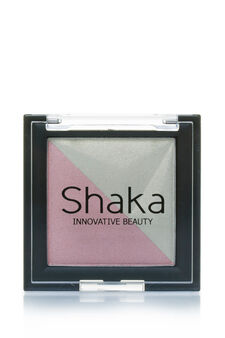 Two-tone eyeshadow., Cyclamen pink, hi-res