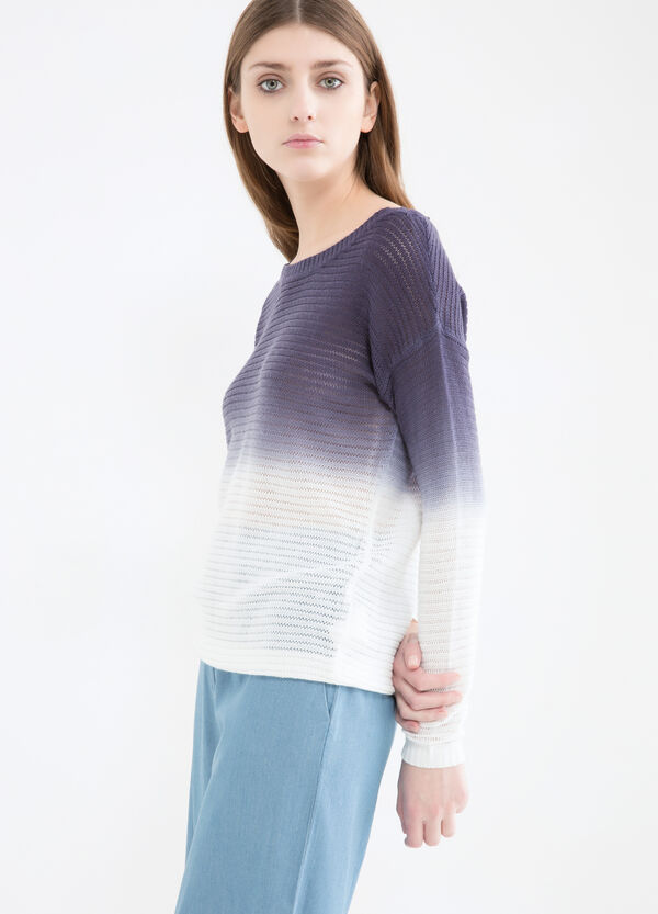 Degradé knit pullover | OVS