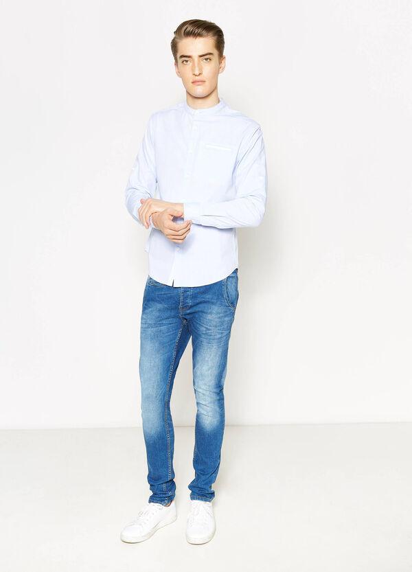 Camicia casual con trama a righe | OVS