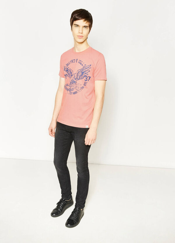 G&H T-shirt with ribbing | OVS
