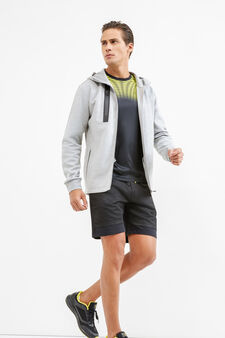 OVS Active Sport Training sweatshirt, Grey Marl, hi-res