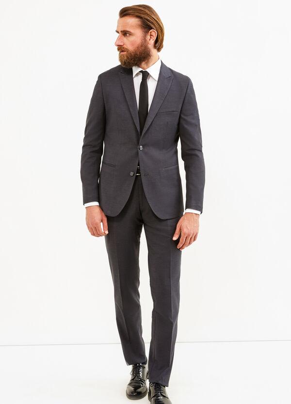 Solid colour custom-fit elegant suit   OVS