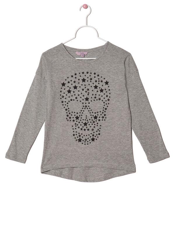 Long-sleeved studded T-shirt | OVS
