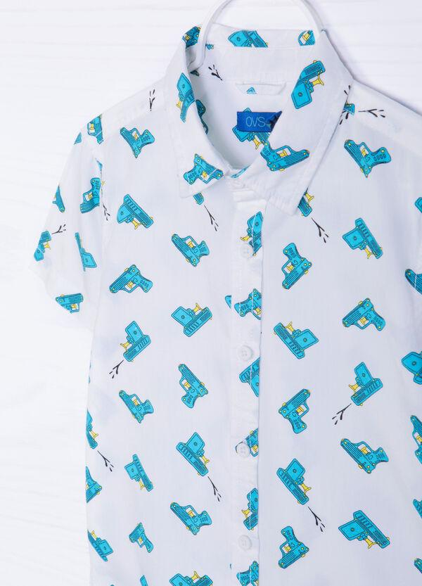 Camicia cotone fantasia | OVS