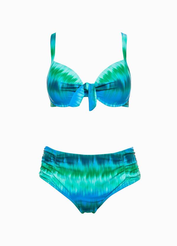 Top de bikini con estampado Curvy | OVS