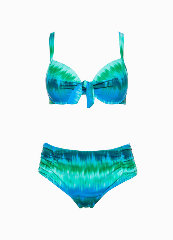 Braguita bañador con estampado Curvy | OVS