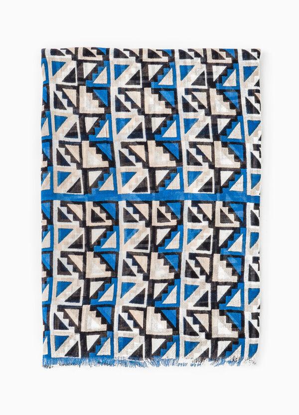 100% viscose patterned scarf | OVS