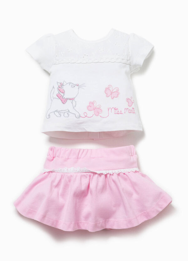 The Aristocats T-shirt and skirt outfit | OVS