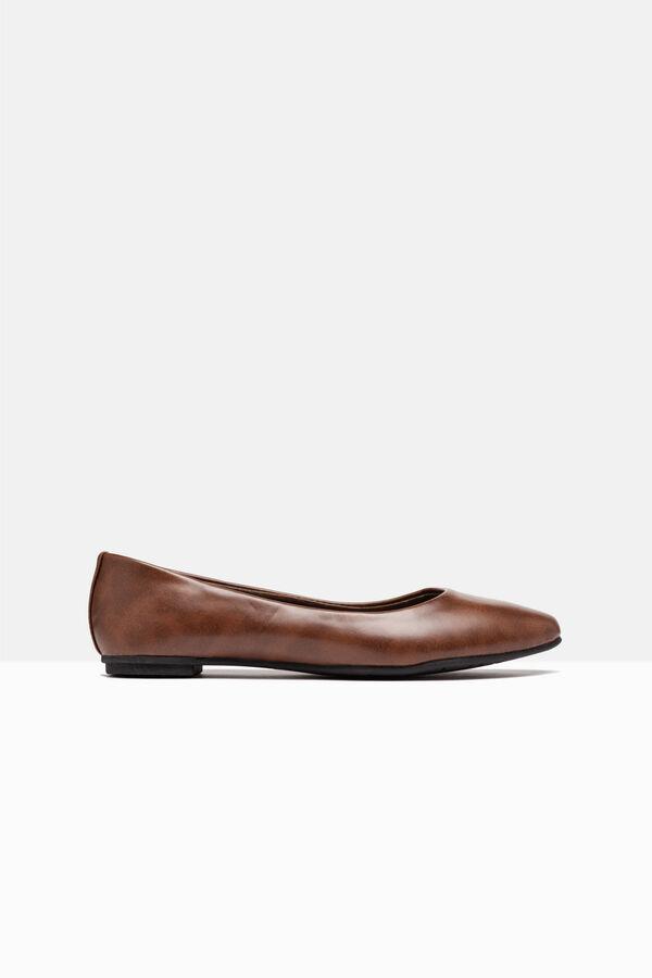 Round toe ballerina pumps | OVS