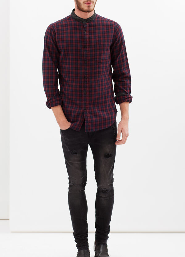 G&H check cotton shirt | OVS