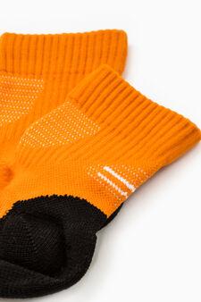Calze stretch Active Sport Training, Arancione, hi-res