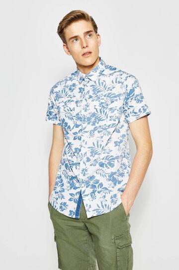 G&H floral print casual shirt