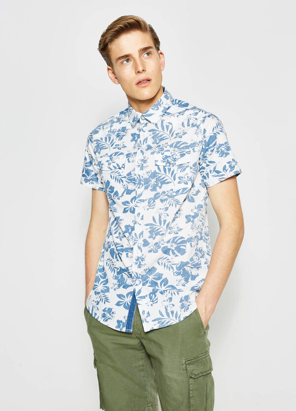G&H floral print casual shirt | OVS